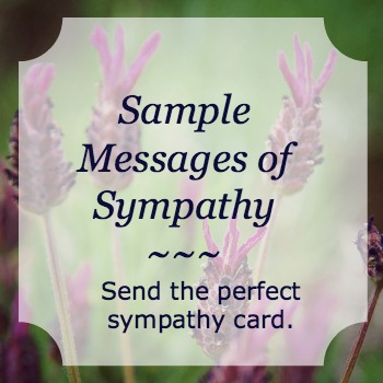 sample-messages-of-sympathy
