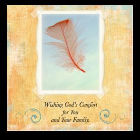 christian sympathy card
