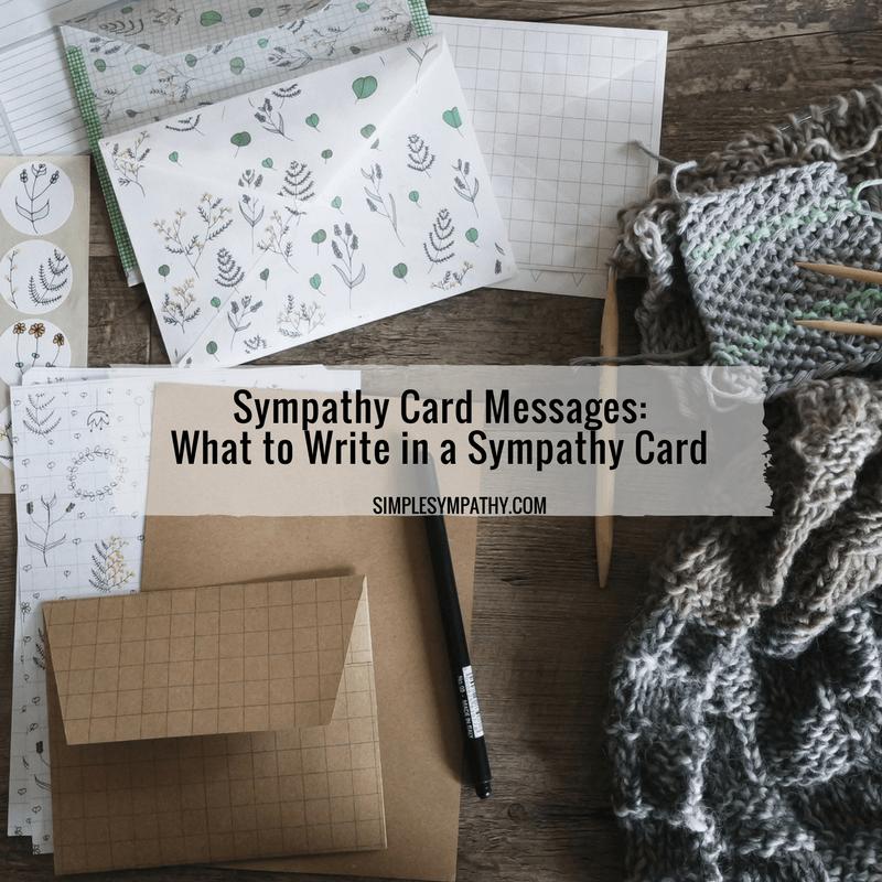 sympathy-card-messages