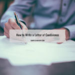 how to write a letter of condolence