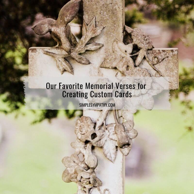 memorial verses