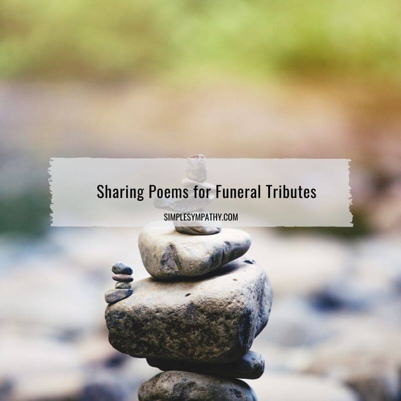 poems for funeral tributes