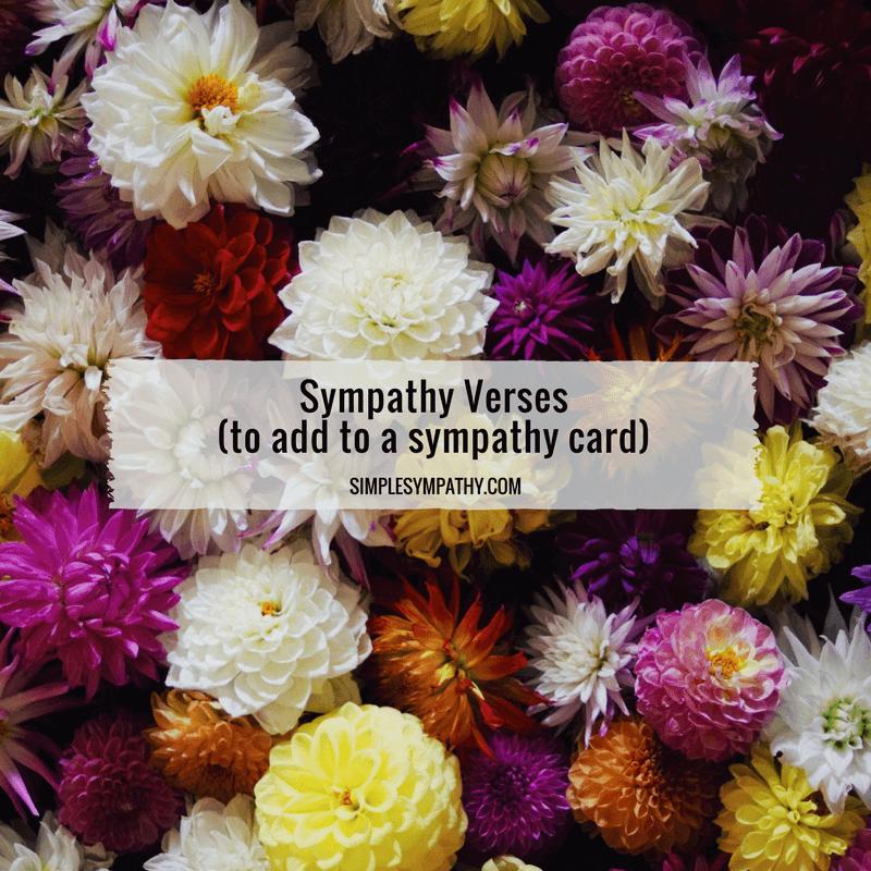 sympathy-verses