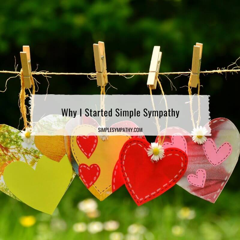 Why I Started Simple Sympathy 2